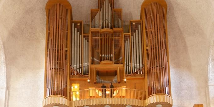 Dresden, Evangelische Kreuzkirche, 4 Manuale 80 Register, Gebr. Jehmlich 1963, Restaurierung 2008