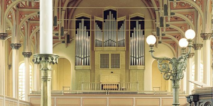 Stavanger / Norwegen, St. Petri-Kirche, 3 Manuale 40 Register, 1977 (978)