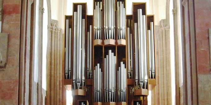 Magdeburg Kloster, Unser lieben Frauen, 4 Manuale 62 Register, Jehmlich 1979, Restaurierung 1995
