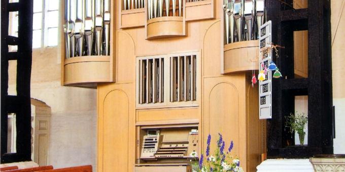 Ribnitz-Damgarten, Stadtkirche St. Marien, 3 Manuale 39 Register, 1994 (1114)