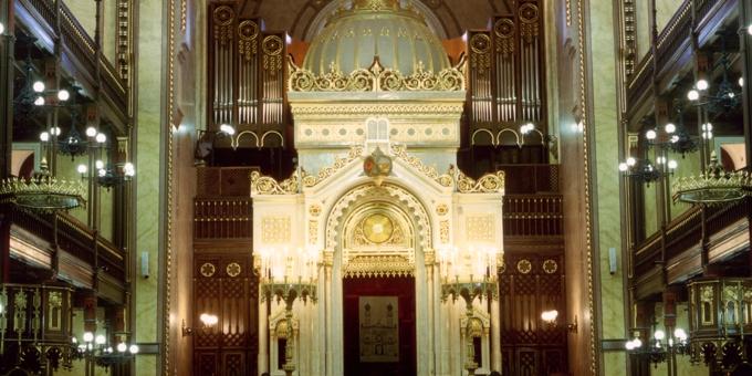 Budapest / Ungarn, Synagoge, 4 Manuale 64 Register, 1996 (opus 1121)
