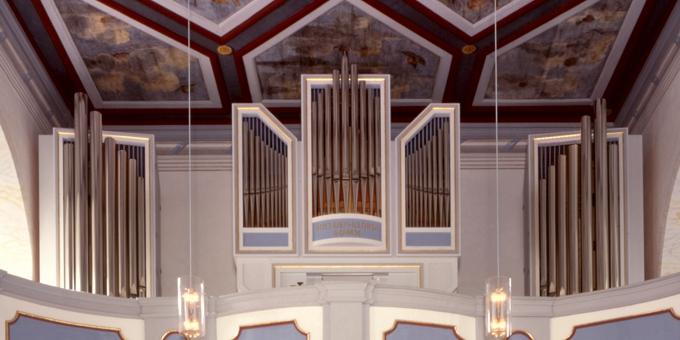 Königstein, Garnisonskirche Festung Königstein, 2 Manuale 16 Register, 2000 (opus 1132)