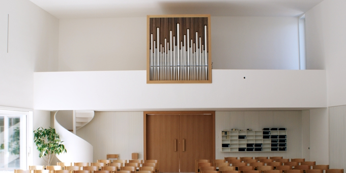 Bad Kissingen / Germany, New Apostolic Church, 1 Manual 7 Stops, 2010 (opus 1162)