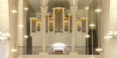 Oberkaufungen, Ev.-Luth. Stiftskirche , 2 Manuale 21 Register, G. P. Wilhelm 1883, Restaurierung 2014-2019
