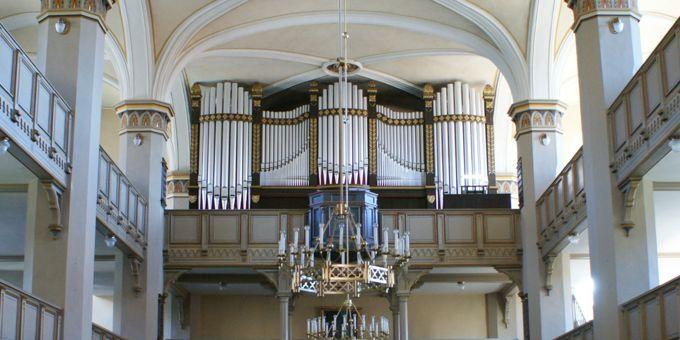 Schmölln, Ev. Stadtkirche St. Nikolai, 3 Manuale 54 Register, Gebr. Jehmlich 1917, Restaurierung 2010
