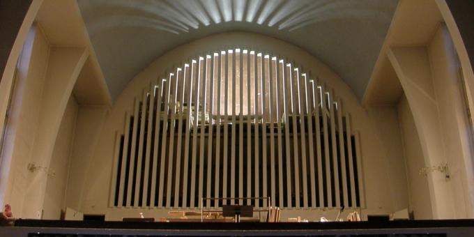 Hamburg-Langenhorn, Ev. Asngarkirche, 3 Manuale 36 Register, H. H Jahnn 1931, Restaurierung 2008