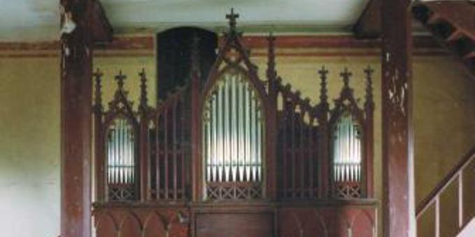 Mirow, Ev.-Luth. Kirche, 1 Manual 6 Register, J. H. Runge 1857, Restaurierung 2001